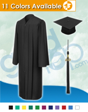 Bachelor Graduation Cap & Gown