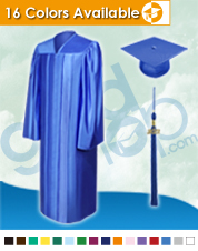 High Scool Graduation Cap & Gown