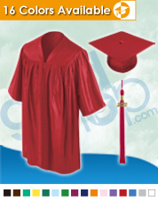 Kindergarten Graduation Cap & Gown